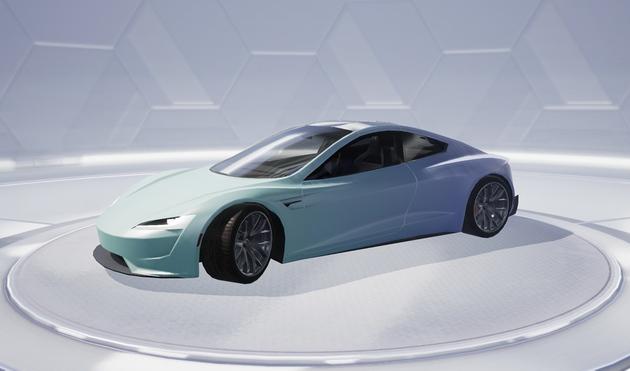 特斯拉Roadster纯电超跑Cybertruck电动皮卡登陆腾讯和平精英